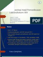 01 Interpretasi Hasil HIV - ARI