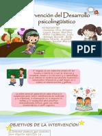 Intervención del Desarrollo psicolingüístico.pptx