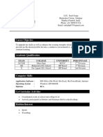 Resume Format Best 211221