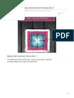 Creativecrochetworkshop.com-Jessicas Closet Baby Doll Summer Dress Set 1