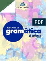 Ejercicios de Gram 225 Tica - El Art 237 Culo Definido