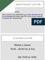 Presentacion SAP PM V