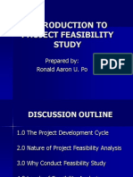 1 IE 153_Lecture_Introduction to Project - Feasibility Study