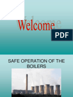 Safe Boiler Operation