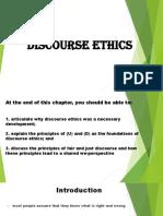 Discourse Ethics (1)