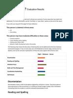Dyslexia Assessment (From Davis Dyslexia Association International)