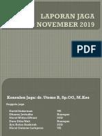 Laporan Jaga 10-11-2019