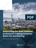 Reform of the Nzets Rules for Auctioning Technical Consultation