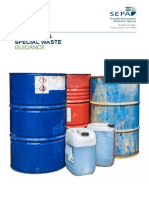 Consigning Special Waste Guidance