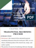 Unit 2 Traditional Machine Theory