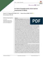 Linezolid-Induced Rare Triad of Hypoglicemia