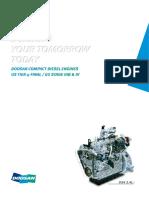 Doosan Infracore Tier 4 Final Compact Diesel Engine