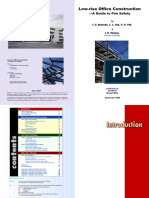 Lowrise Office Construction Fire Safety Guide