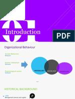 Organization Behaviours Slide