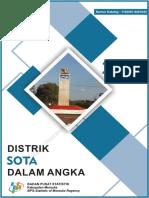 Kecamatan Sota Dalam Angka 2019