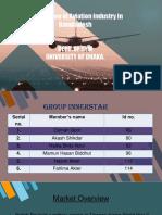 Aviation  industry in bd Slide