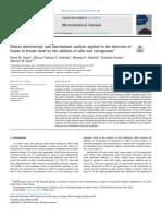 Raman Spectroscopy to Detection Frauds in Bovine Meat