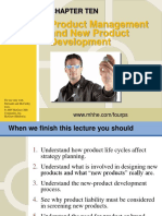 Product Management and New Product Development