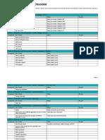 System Testing  Checklist