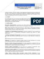 TRÁMITE, CONTROL Y GESTIÓN DE PAGO  DE SERVICIOS PÚBLICOS