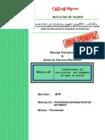 SLSI_ M02 Connaissance Application Elements Base Dess BTP TDB