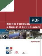 SLSI_ 2005-09-01 Guide Assistance Amo Decideur Maitre Ouvrage