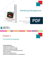 Chapter 1 the World of Marketing