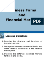 FINAMAN Lecture2 Business Firms and Financial Markets