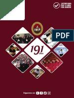 Programa de Actividades 191 Aniversario UNSA