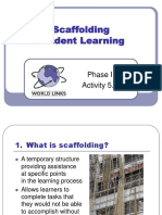 P1 SP 5.1 Scaffolding Student Learning