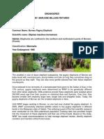Report Endangered Species