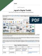 Bellingcats Digital Toolkit