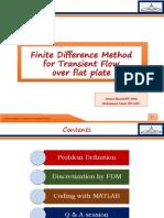 Finite method discritization