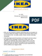 Ikea parcour client