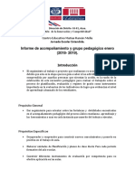 Informe Grupo Ped. Enero 2018-2019