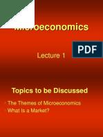 microeconomics topics and documents