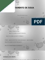 Tratamento de Agua_aula 1