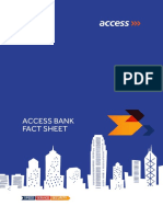 Access Bank Fact Sheet 2017