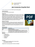 Conductive graphite paint
