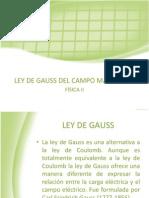 Ley de Gauss Expo