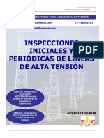 Inspecciones Iniciales y Periódicas de Líneas de Alta Tensión