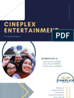 Cineplex Case