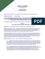 GCAct 2004 and PGCA Code of Ethics