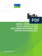 317282755 AKSA Diesel Generating Sets Installation Recommendations and Operations Manual En