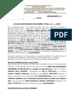 Acta de Conciliacion Extrajudicial Emequi Sac
