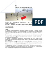 Modelo de Manutenção Preventiva Trabalho