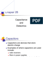 Capacitance and Dielectric