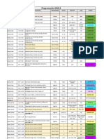 Programación Del 18 Al 22 de Noviembre - Morfología