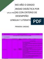 Pud 7mo Planificacion Lengua
