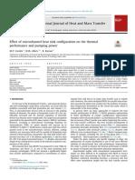 Heat Transfer in porous media